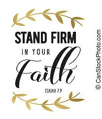 estante, firma, su, fe