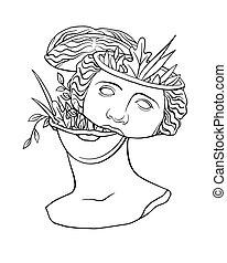 estatua, 1, moda, antigüedad, diosa, clásico, afrodita, venus