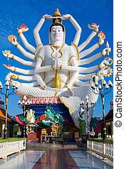Estatua de shiva en Koh Samui Island en Tailandia
