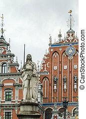 Estatua roland, riga