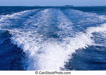estela, barco