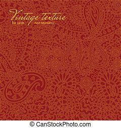 Estiércol coloreado rojo para tarjetas y diseño