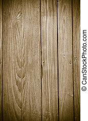 Estiércol marrón de madera, fondo de madera