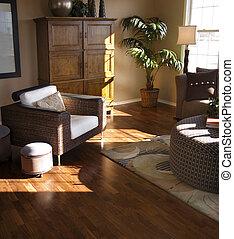 Estilo de sala de estar moderno
