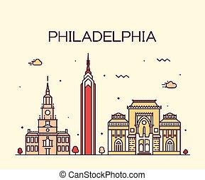 Estilo lineal de Filadelfia