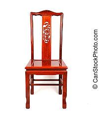 estilo, ming, chino, muebles