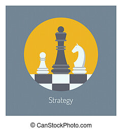 Estrategia comercial de ilustraciones planas
