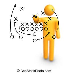 Estrategia de fútbol americano