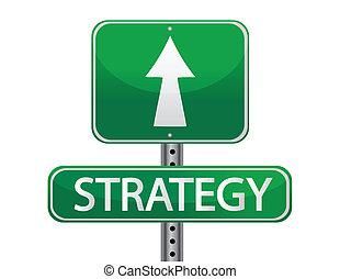 Estrategia de signos callejeros