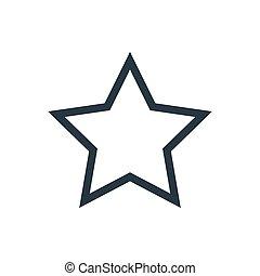 estrella, contorno