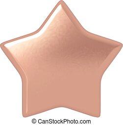 Estrella de bronce.