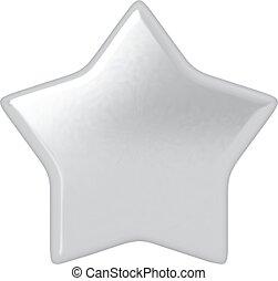 Estrella de plata.