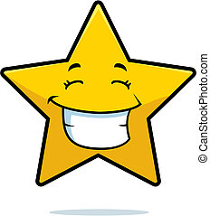 Estrella sonriendo