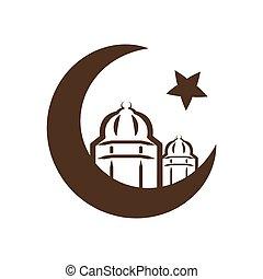 Estrella y media, símbolo del Islam