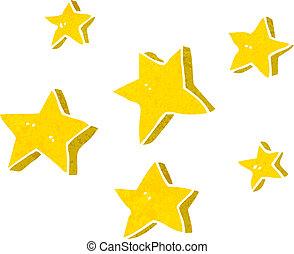 Estrellas de dibujos animados