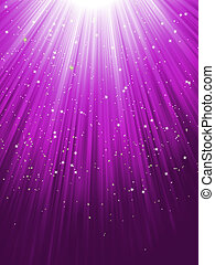 Estrellas de fondo rayado púrpura. EPS 8