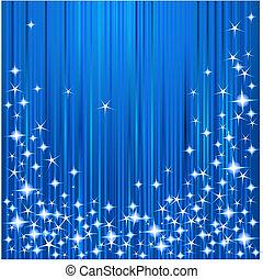 Estrellas de Navidad y rayas