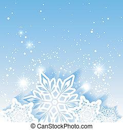 Estrellas de nieve de Navidad