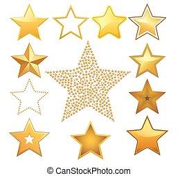 Estrellas de vector