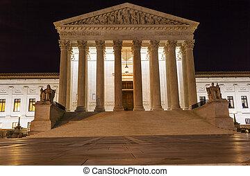 Estrellas de Washington DC en la noche del Capitolio
