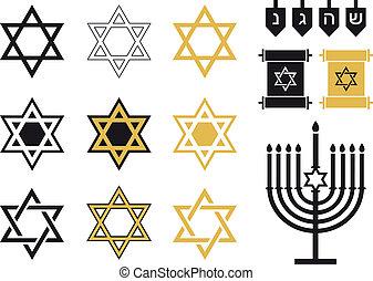 Estrellas judías, iconos religiosos