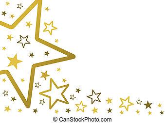 estrellas, plano de fondo