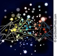 Estructura de conexión ligera.