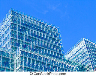 Estructura de vidrio