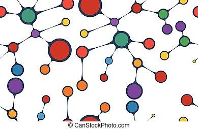 Estructura molecular. Antecedentes sin daños