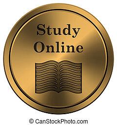 Estudia icono online