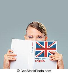 Estudiante inglesa