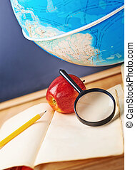 estudiar, composición, geografía