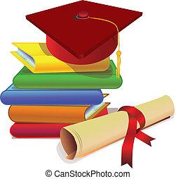 estudio, graduación