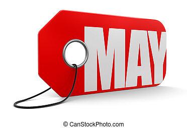 Etiqueta con mayo