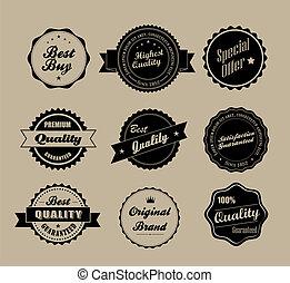 Etiquetas antiguas