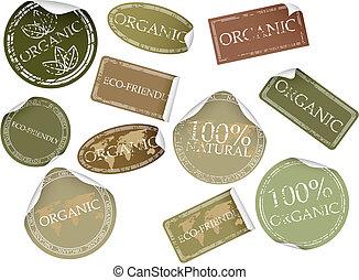 Etiquetas naturales