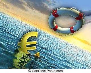 Euro hundido