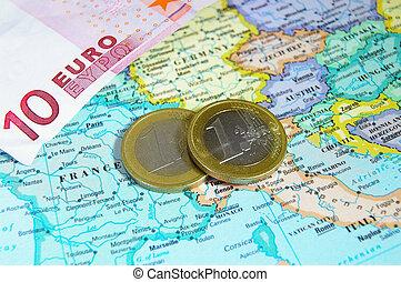 europa, coins, euro