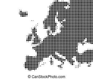 europa, mapa