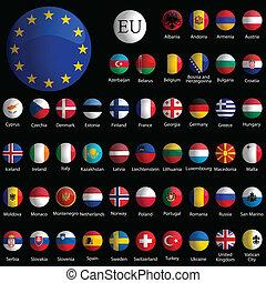 Europa recolectó iconos glosos contra el negro