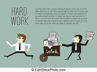 Evitando el trabajo duro