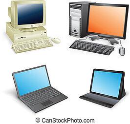 evolución, computadora