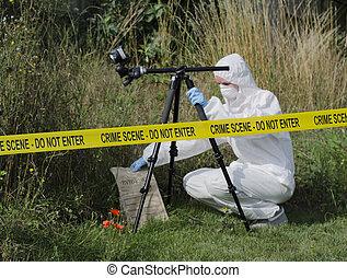 Examen de escena del crimen
