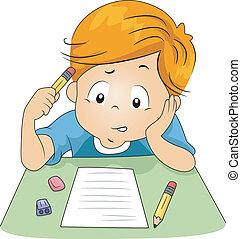 Examen de niños