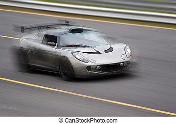 exceso de velocidad, coche deportivo