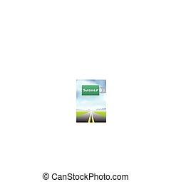Exitoso signo de autopista