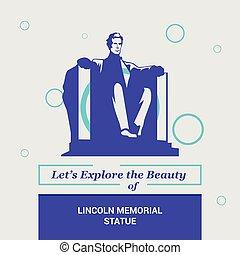 Exploremos la belleza de Lincoln Sta. Washington DC, Estados Unidos