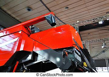 Exposición de maquinaria agrícola.
