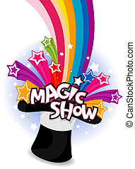 exposición, magia