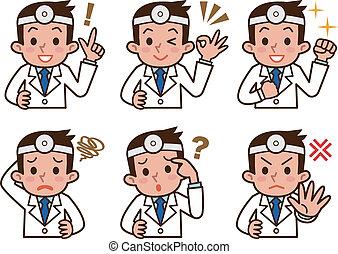 expresión, doctor